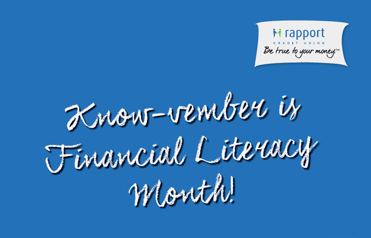Financial Literacy Month - Know-vember